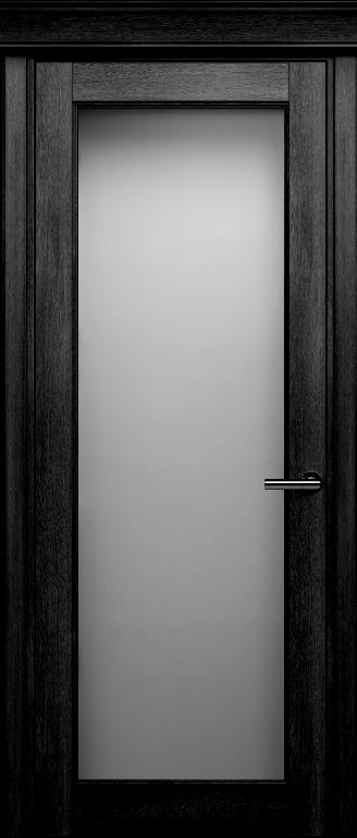 Status Classic 552 дуб черный стекло сатинато белое матовое