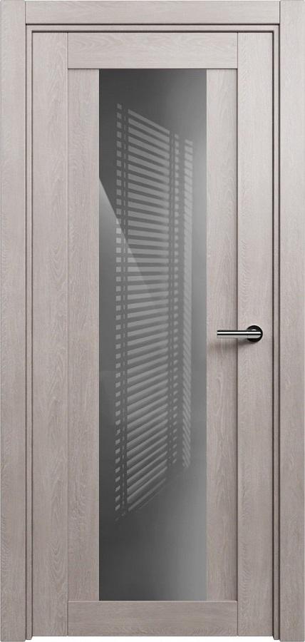 Status Estetica 823 дуб серый стекло серое