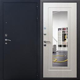 Стальная дверь Гранит Ультра Престиж (дуб беленный)