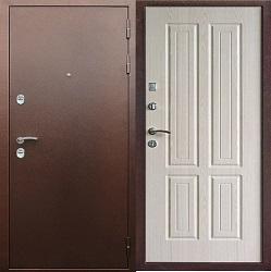 Стальная дверь Гранит Терморазрыв (дуб беленный)