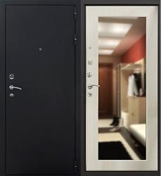 Стальная дверь Гранит Ультра 8 Комфорт (беленый клен)