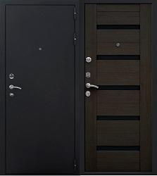 Стальная дверь Гранит Ультра 8М (венге)