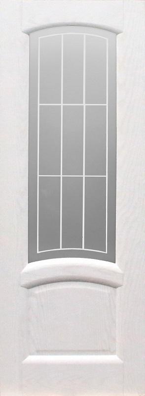 Орион Александрит ПО эмаль белая полузалитая стекло белое с пескоструйной обработкой