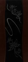 Орион Грация ПО венге стекло черный триплекс с элементами художественного матирования