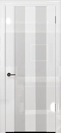 Арт Деко Vatikan Premium Глянец Амалия-2 белый глянец триплекс кипельно-белый
