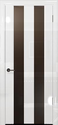 Арт Деко Vatikan Premium Глянец Амалия-2 белый глянец триплекс мокко