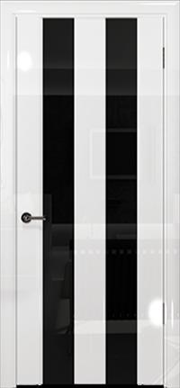 Арт Деко Vatikan Premium Глянец Амалия-2 белый глянец триплекс черный