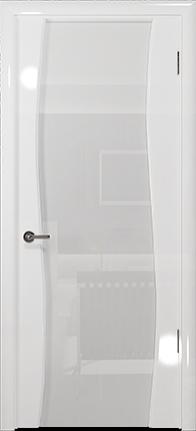 Арт Деко Vatikan Premium Глянец Вэла белый глянец триплекс кипельно-белый