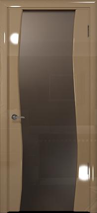 Арт Деко Vatikan Premium Глянец Вэла  бежевый глянец триплекс мокко