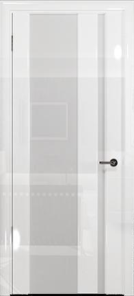 Арт Деко Vatikan Premium Глянец Спациа-5 белый глянец триплекс кипельно-белый