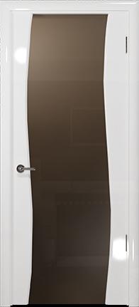 Арт Деко Vatikan Premium Глянец Вэла белый глянец триплекс тонированный