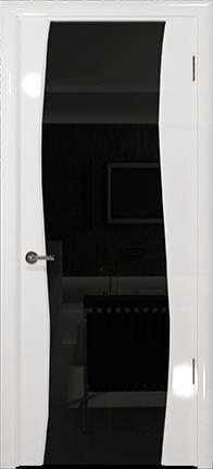 Арт Деко Vatikan Premium Глянец Вэла белый глянец триплекс черный