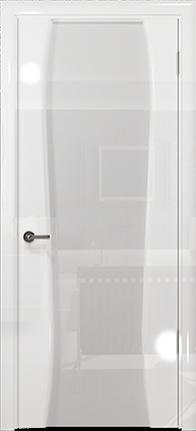 Арт Деко Vatikan Premium Глянец Лиана-3 белый глянец триплекс кипельно-белый