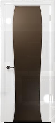 Арт Деко Vatikan Premium Глянец Лиана-3 белый глянец триплекс тонированный