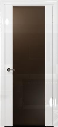 Арт Деко Vatikan Premium Глянец Спациа-3 белый глянец триплекс тонированный