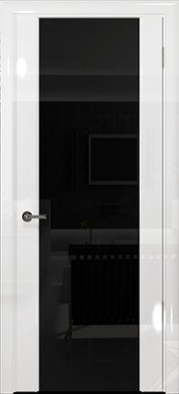 Арт Деко Vatikan Premium Глянец Спациа-3 белый глянец триплекс черный