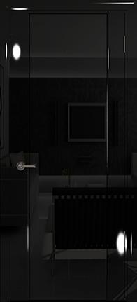 Арт Деко Vatikan Premium Глянец Спациа-3  черный глянец триплекс черный