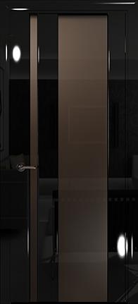 Арт Деко Vatikan Premium Глянец Спациа-5  черный глянец триплекс мокко