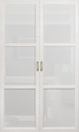 Арт Деко Vatikan Premium Трио белый ясень триплекс белый