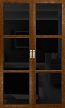 Арт Деко Vatikan Premium Трио терра триплекс черный