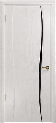 Арт Деко Стайл Лиана-1 ясень белый триплекс черный