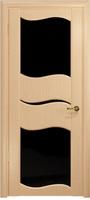 Арт Деко Стайл Луника-6 беленый дуб триплекс черный