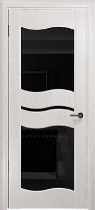 Арт Деко Стайл Луника-6 ясень белый триплекс черный
