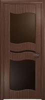 Арт Деко Стайл Луника-6 орех американский стекло тонированное