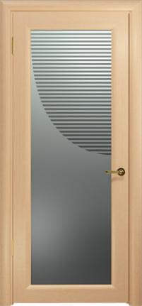 Арт Деко Стайл Маятник беленый дуб триплекс прозрачный с рисунком