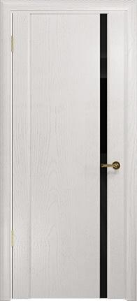 Арт Деко Стайл Спация-1 ясень белый триплекс черный