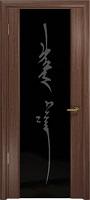 Арт Деко Стайл Спация-3 орех американский триплекс черный с рисунком «Чингизхан»