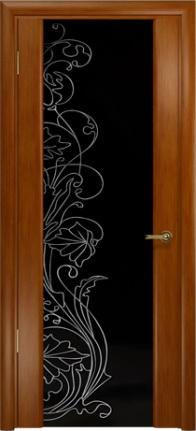 Арт Деко Стайл Спация-3 анегри темный триплекс черный с рисунком cо стразами