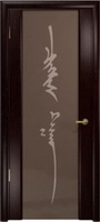 Арт Деко Стайл Спация-3 венге триплекс тонированный с рисунком «Чингизхан»