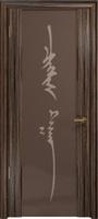 Арт Деко Стайл Спация-3 эбен триплекс тонированный с рисунком «Чингизхан»