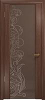 Арт Деко Стайл Спация-3 орех американский триплекс тонированный с рисунком cо стразами