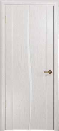 Арт Деко Стайл Спация Лепесток ясень белый триплекс кипельно белый