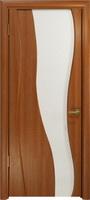 Арт Деко Стайл Селена красное дерево триплекс белый