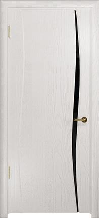 Арт Деко Стайл Вэла-1 ясень белый триплекс черный