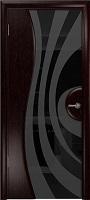 Арт Деко Стайл Ветра-1 венге триплекс черный с рисунком
