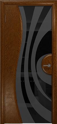 Арт Деко Стайл Ветра-1 терра триплекс черный с рисунком
