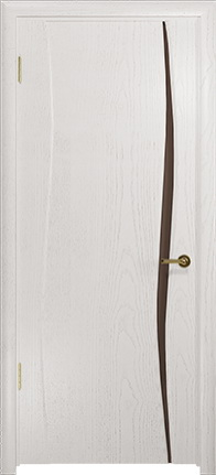 Арт Деко Стайл Вэла-1 ясень белый триплекс тонированный