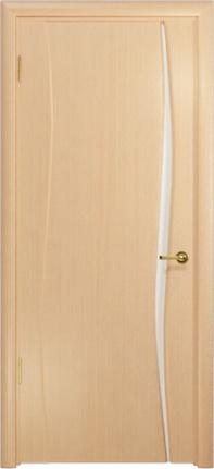Арт Деко Стайл Вэла-1 беленый дуб триплекс белый