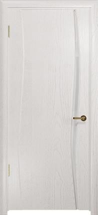 Арт Деко Стайл Вэла-1 ясень белый триплекс кипельно белый