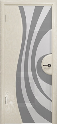 Арт Деко Стайл Ветра-1 аква триплекс кипельно белый с рисунком