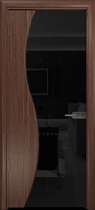 Арт Деко Стайл Ветра-3 орех американский триплекс черный