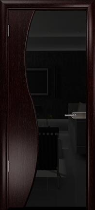 Арт Деко Стайл Ветра-3 венге триплекс черный