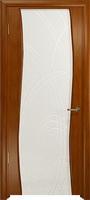 Арт Деко Стайл Вэла анегри темный триплекс белый с гравировкой