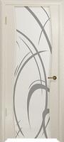 Арт Деко Стайл Вэла аква триплекс белый с рисунком