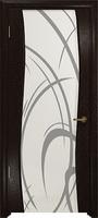 Арт Деко Стайл Вэла фуокко триплекс белый с рисунком