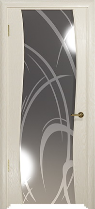 Арт Деко Стайл Вэла аква зеркало с рисунком